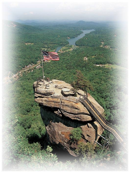 Chimney Rock, State Park, Beautiful view, mountains, relaxing