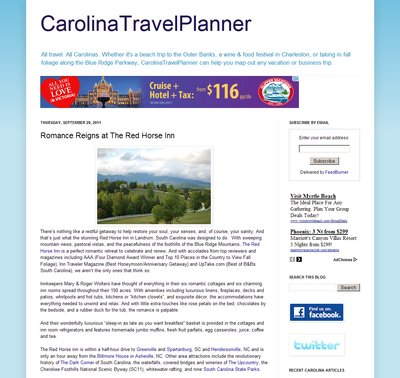 Carolina Travel Planner