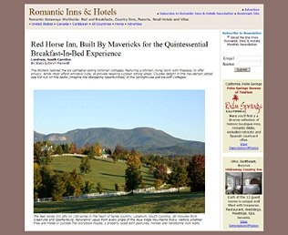 Romantic Inns & Hotels
