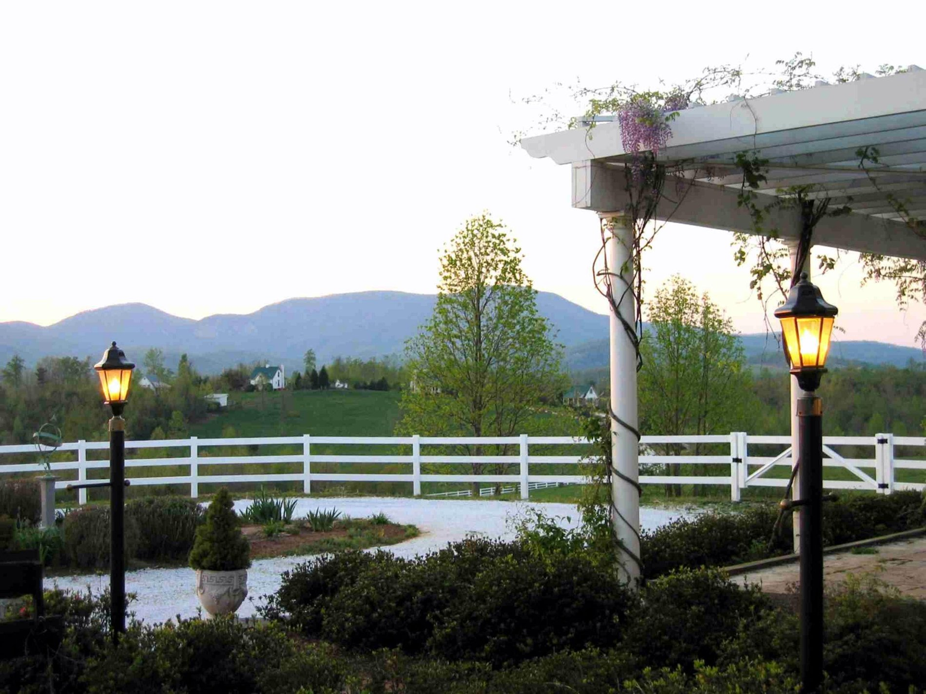 Blue Ridge Mountains, Terrace, Mountain View