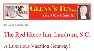 Glenn's Ten: The Way I See It